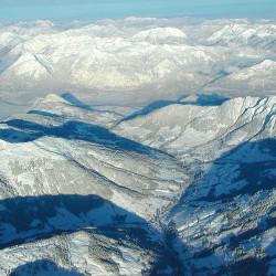 Blick auf Alpbachtal und Inntal